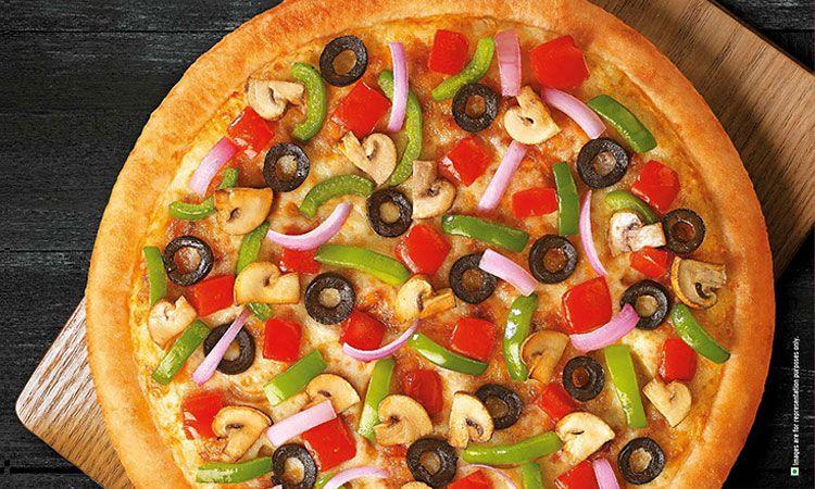 Crispy pizza hut pizza